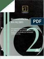 Recomendación AMAAC RA 02 2011 Susceptibilidad a la deformación.pdf