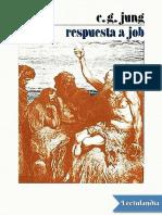 Respuesta a Job - Carl Gustav Jung