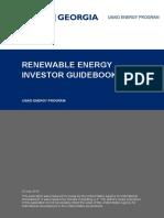 Renewable Energy Investor Guidbook  -  USAID ENERGY PROGRAM