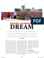 Swami Ramdev's Dream