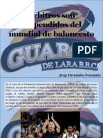 Jorge Hernández Fernández - Árbitros Son Suspendidos Del Mundial de Baloncesto