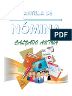 Cartilla de Nomina