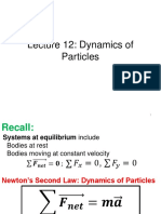 Lecture 12 Newtons Law