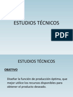 Estudios Tecnicos