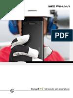 IMPACT_X Intrinsically Safe Smartphone