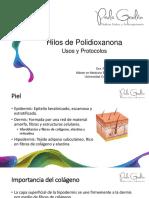 Usos y Protocolos Hilos de Pdo