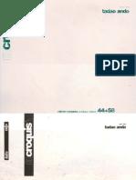 El Croquis 44+58 - Tadao Ando