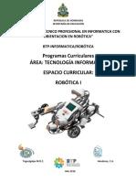Malla Curricular Robotica i