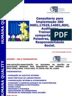 Apresentação Consultoria Iso 17025