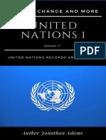 United Nations 1 Climate Change Author Jonathan Azael
