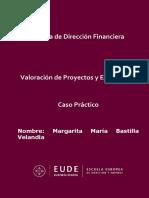 Caso_Valoración de proyectos y empresas - Margarita Bastilla