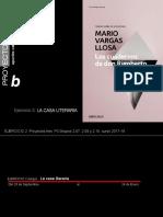 Ejercicio 2 - La Casa Literaria. Mario Vargas Llosa