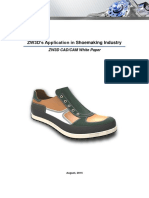 Zw3ds Application in Shoemaking Industry