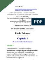 INCONFORMIDAD AL CONTRALOR DEL ESTADO DE NUEVO LEON Y A SU PERSONAL