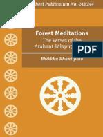 Wh243 Khantipalo Forest-Meditations