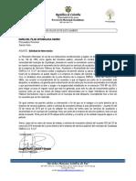 Solicitud de Intervención Procuraduría Provincial