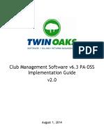 Twin Oaks Club Management Software v6.x PA DSS Implementation Guide v2.0.pdf
