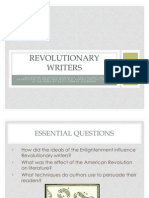Revolutionary Writers