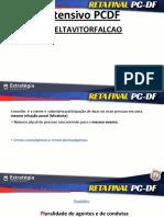 Reta Final PC-DF Direito Penal -Concursos de Pessoas