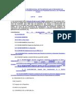 Ley de Regularización de Edificaciones Ley Nro 27157