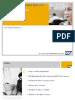 SAP Best Practices Overview CRM V1.2007 En
