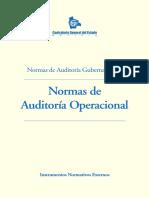 Normas de Auditoria Operacional CGEstado