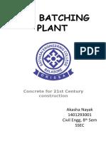Rmc Batching Plant Ppt