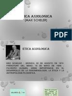 ETICA AXIOLOGICA