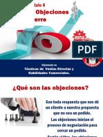 Manejo Objeciones y Cierre, Mod. 4 Ventas Directas