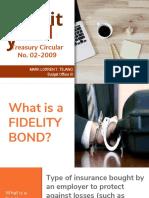 06 Fidelity Bond - Property & Supply Management