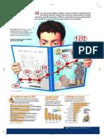Infographie Carrefour - BD en Stock - Janvier 2002