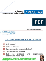 siete recetas marketing experiencial