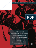 (Palgrave Historical Studies in Witchcraft and Magic) Jonathan Barry, Owen Davies, Cornelie Usborne (Eds.)-Cultures of Witchcraft in Europe From the Middle Ages to the Present-Palgrave Macmillan (2018