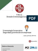 Criminología Corporativa