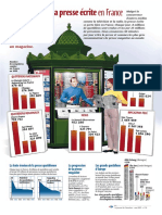 Infographie Carrefour - La presse écrite en France - Mai 2001