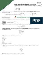 Sistema de Equações