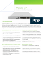 Cisco Meraki Reference MX