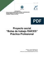 6. Proyecto Bolsa de Trabajo