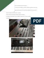 Piano Korg p 1000