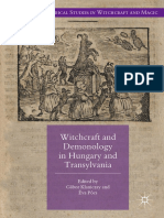 (Palgrave Historical Studies in Witchcraft and Magic) Gábor Klaniczay, Éva Pócs (Eds.)-Witchcraft and Demonology in Hungary and Transylvania-Palgrave Macmillan (2017) (1)