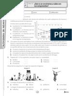 Ficha de Refuerzo Ecosistemas 1