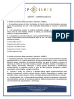 Questoes - Cp Iuris - Patrimonio Publico II
