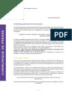 Collectif Handicap- communiqué recensement