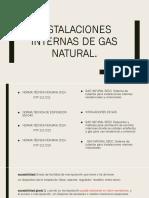 INSTALACIONES INTERNAS DE GAS NATURAL