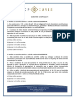 QUESTOES - CP Iuris - Leis Penais Especiais IV