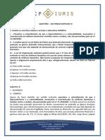 Questoes Comentadas - CP Iuris - Leis Penais Especiais III