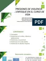 curso de vida y violencia