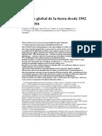 2Cambio Global de La Tierra Desde 1982 Hasta 2016