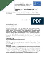 NARRATIVA MERITOCRÁTICA, SISTEMA EDUCATIVO Y MERCADO LABORAL