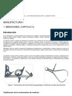 Manufactura I_ Mediciones ( Capitulo 3)
